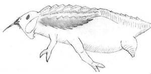Unnamed water larva