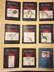 Allomal trading cards by Allomals