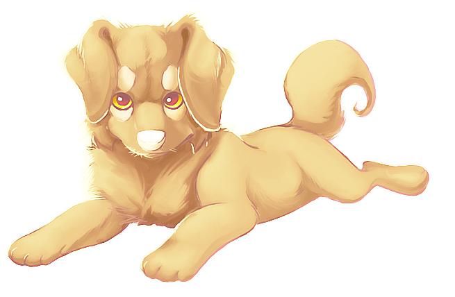 Hund by LittlePuffin