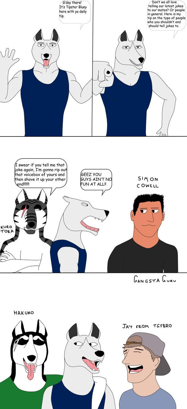 Tipster Bluey by gangstaguru