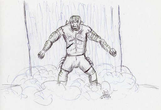 Inktober 2016: 02 Warrior
