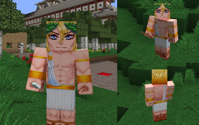 commission hd skin for minecraft 2 by zellaross on deviantart