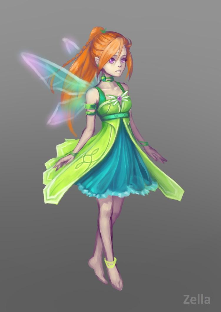 фея by ZellaRoss