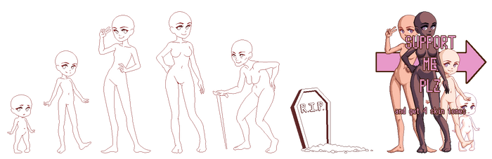 Tutorial Body Child And Growing Up On Drawing Tutorial Deviantart