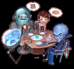 Megamind dinner game