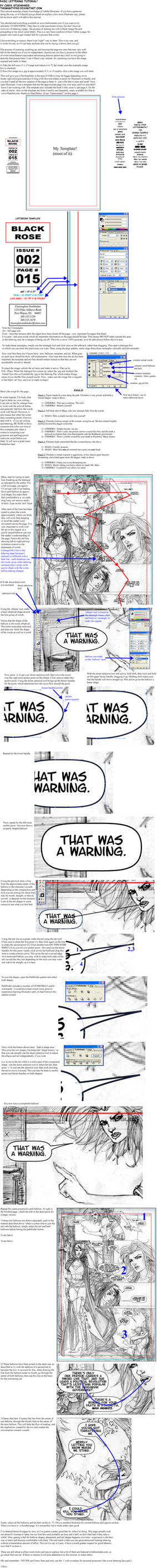 Comics Lettering Tutorial