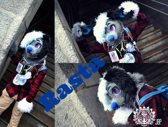 Commission fursuit - Rasta by RaviTheBlueTiger