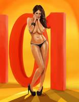 Holly Peers 101 by Yneddt