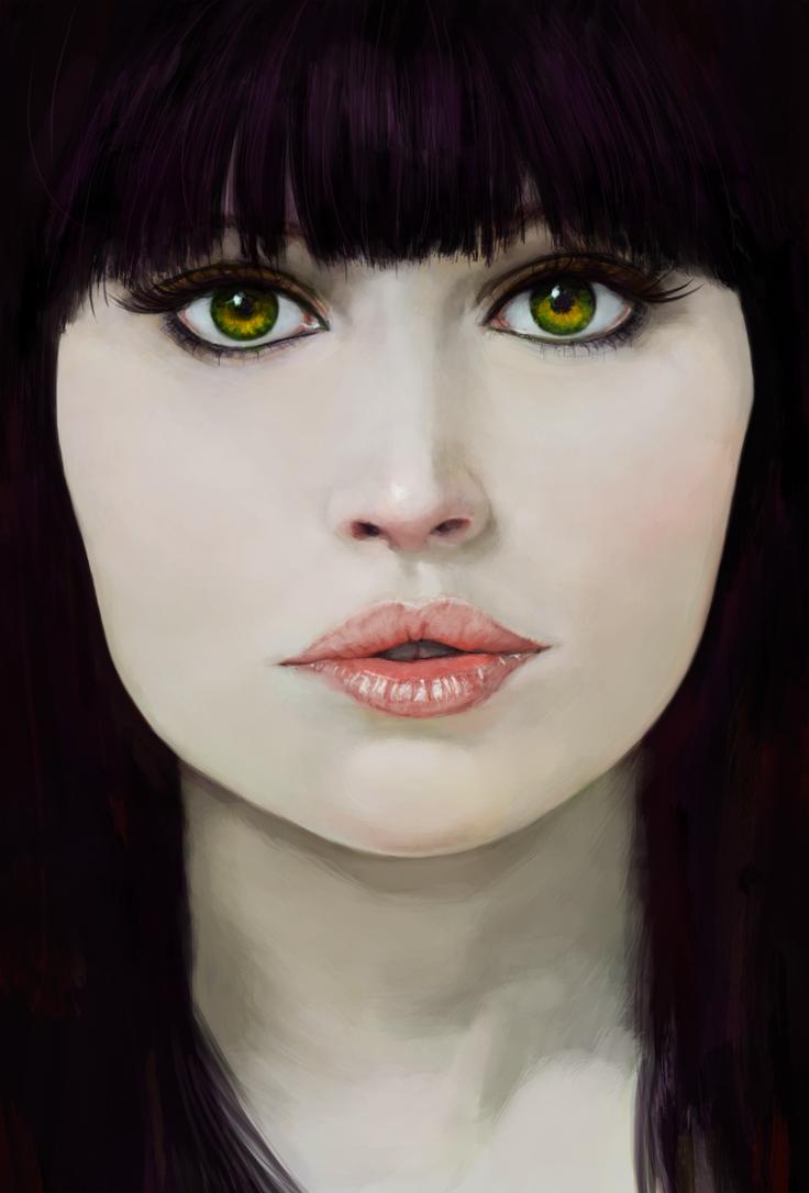 Felicity Jones by Yneddt