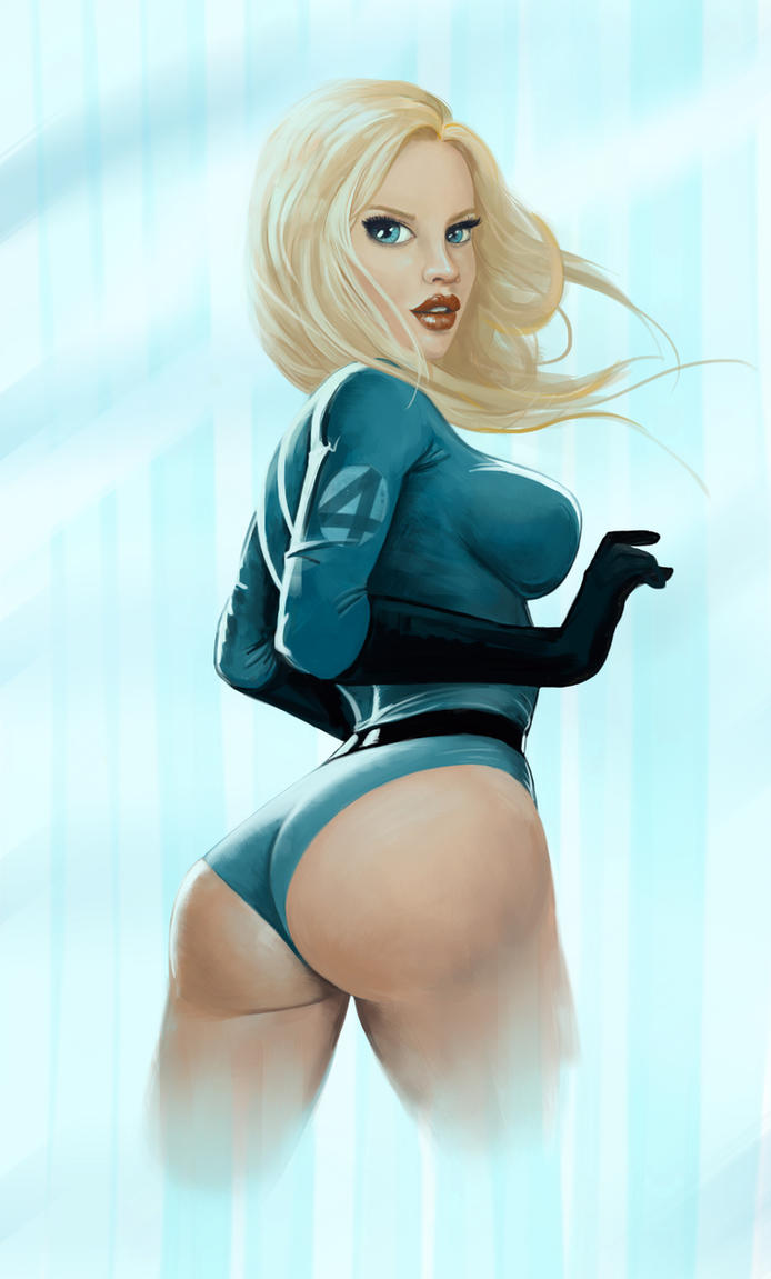 Invisible Woman by Yneddt