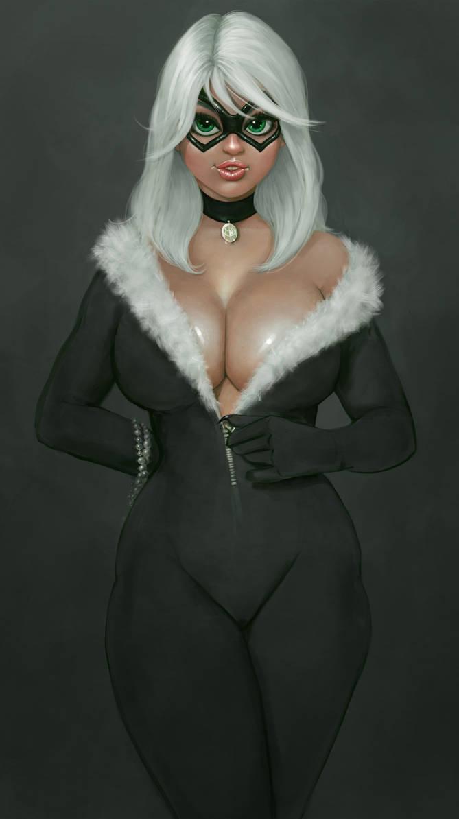 The Black Cat by Yneddt