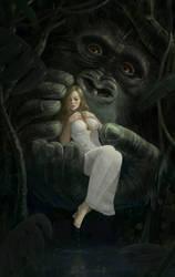 King Kong caresses Ann Darrow