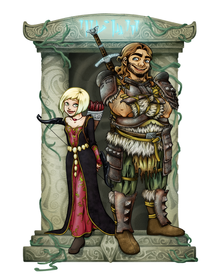 Russ and Petra by OrlaPrion