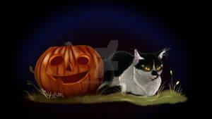 Hunter and Pumpkin