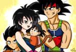 A saiyan family