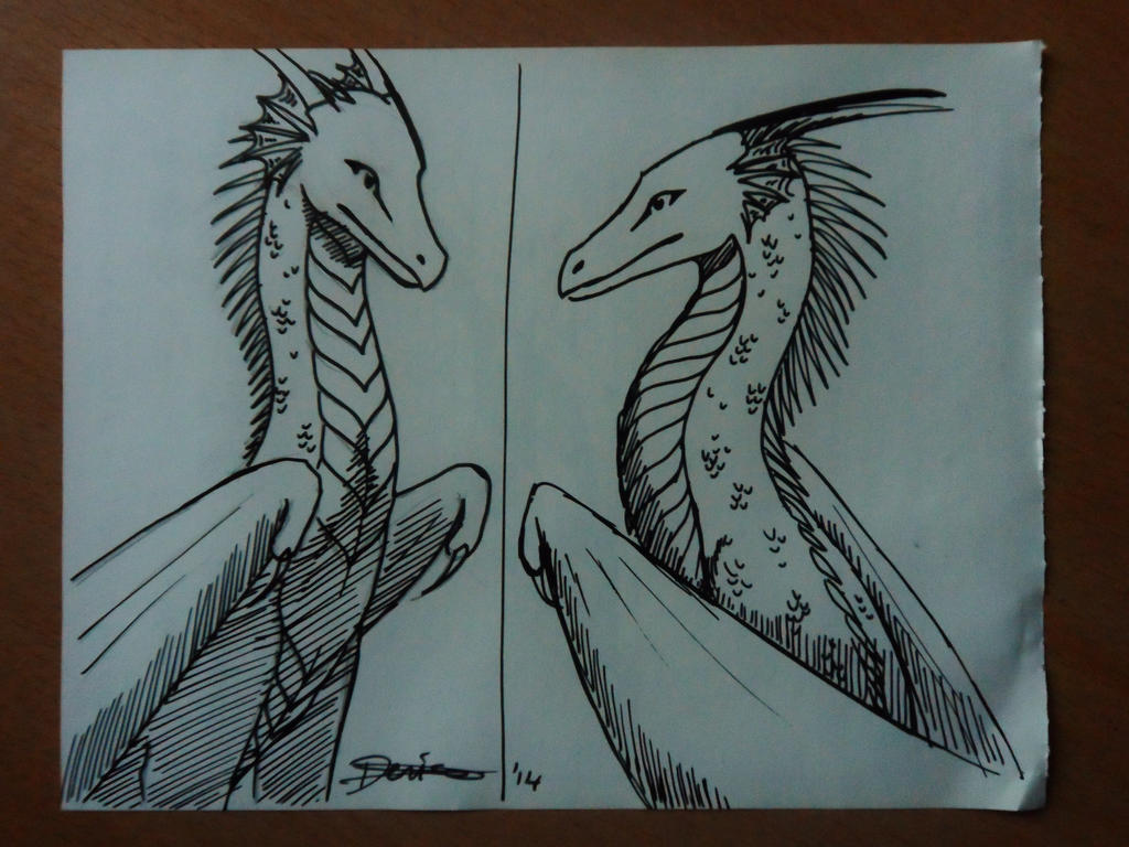 Inktober day 30 by The-fox-of-wonders