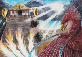 Gezegend - Een Horizon van Vlammen by The-fox-of-wonders