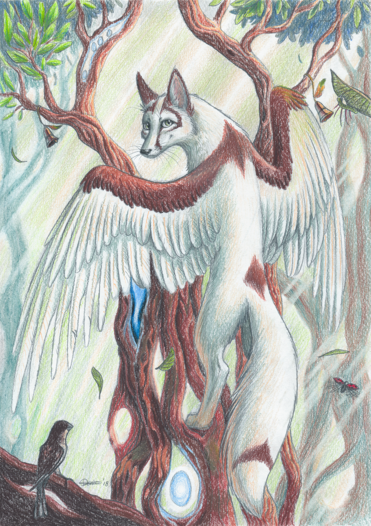 Song Of The Trees by The-fox-of-wonders