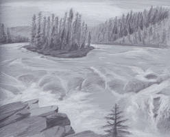Landscape Study by Foxofwonders
