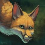 Flight Rising commission - Fox