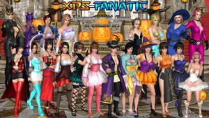 DOA5LR - Halloween 2017 DLC (Women) for XPS by XPS-Fanatic