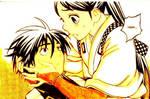 Kekkaishi Yoshimori and Tokine