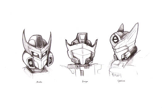 Transformers favourites by OddLittleArtist on DeviantArt