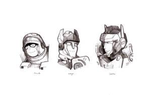 Unicron Trilogy: Hotshot by Galvaridarts