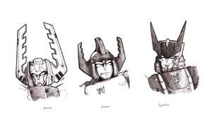 Unicron Trilogy: Megatron by Galvaridarts