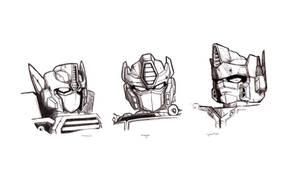 Unicron Trilogy: Optimus Prime by Galvaridarts