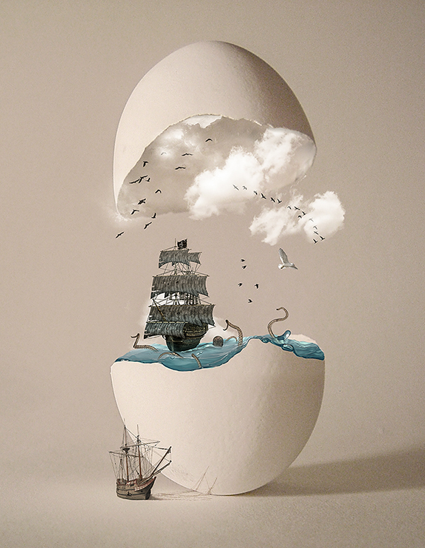 surreal easter egg by - photo #25
