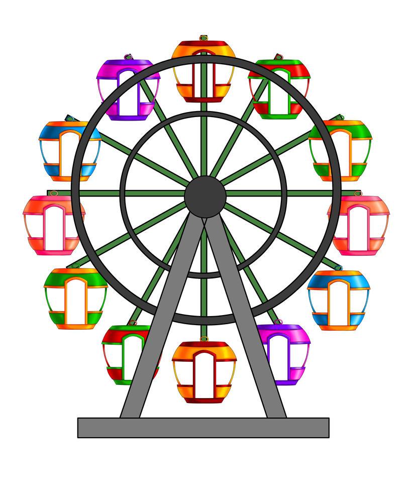 ferris wheel by kalakaan on DeviantArt