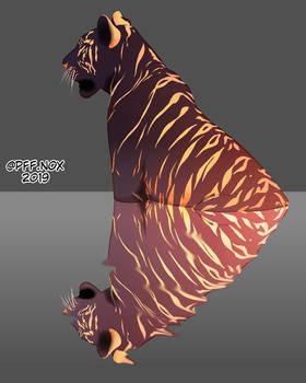 Dark Gold Tiger