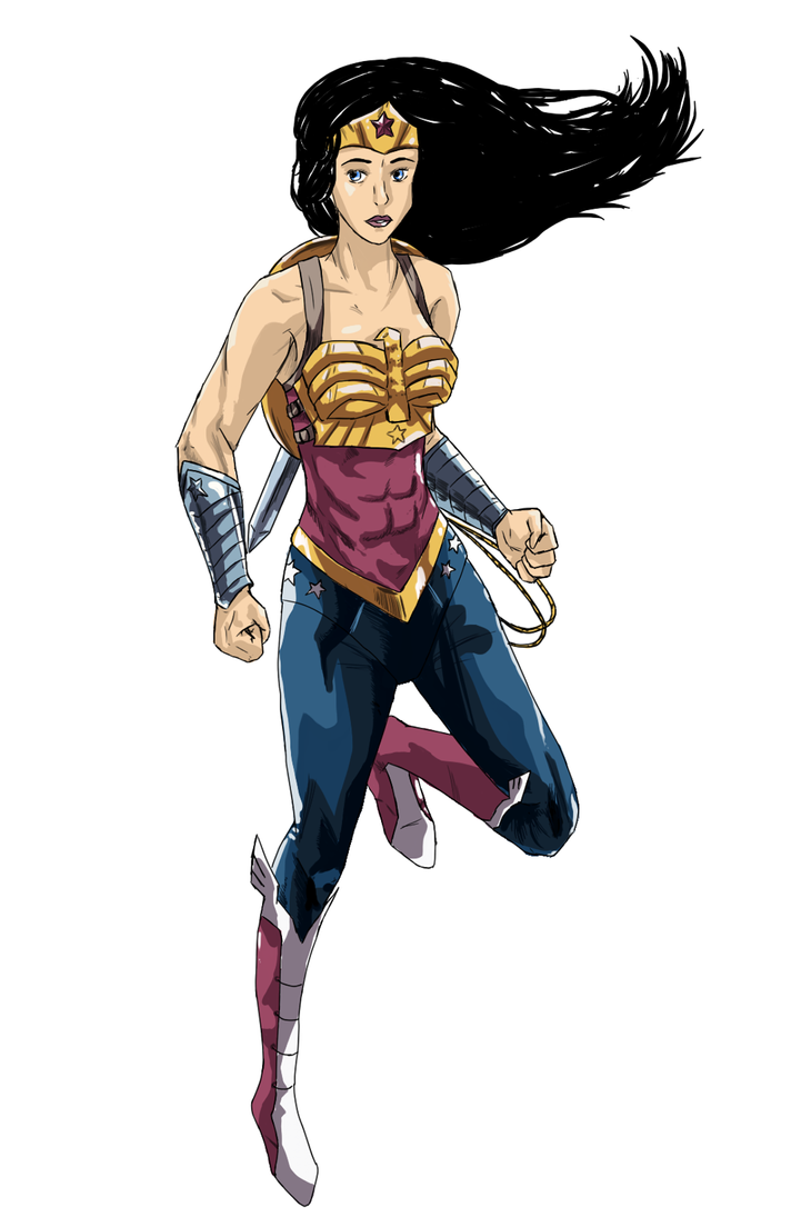 Wonder Woman by kimirawrr