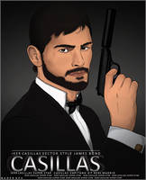 casillas vector james bond style by nadergfx