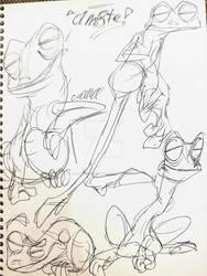 Treefrog sketchdump