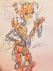 Steampunk Robogirl