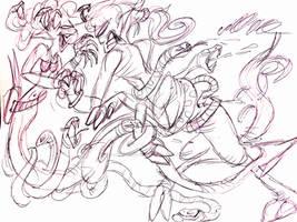 Gorgon vs Centaur