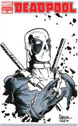 Deadpool Sketch Cover 06
