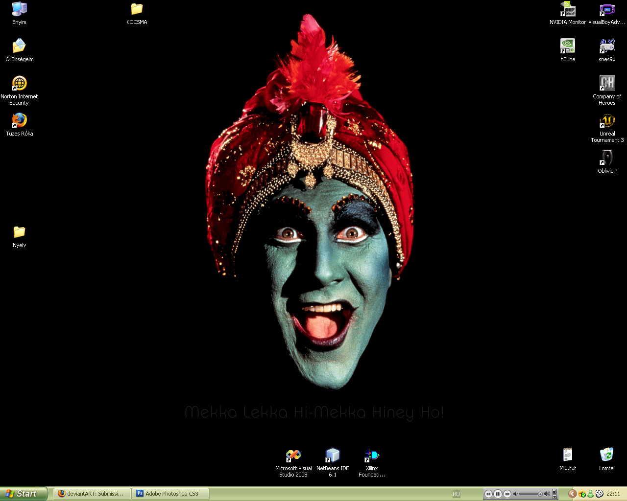 Current Desktop, Nov 2008 by Bleeding-Dragon