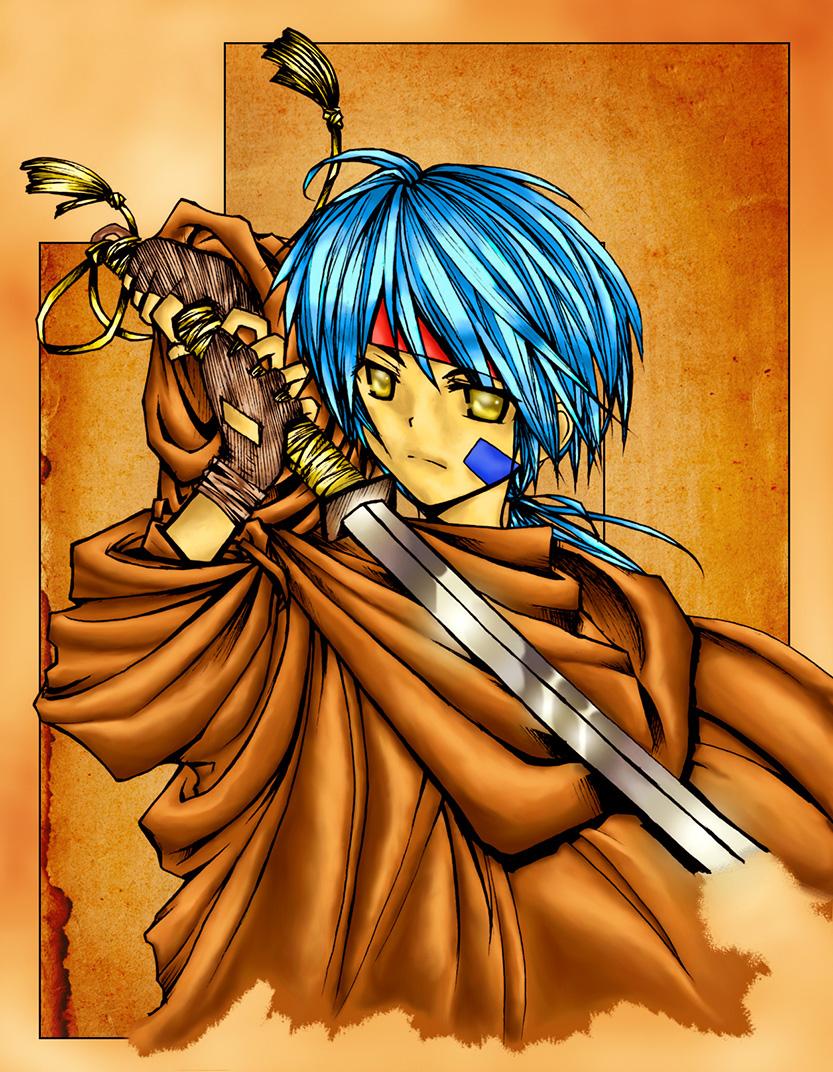 Samurai Guy by Bleeding-Dragon