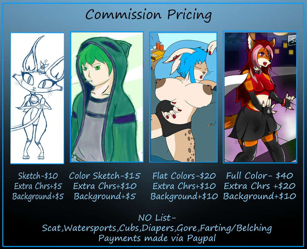 Pricing Sheet by crimson-exe