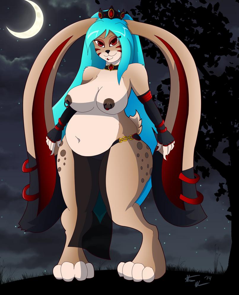Bunny Queen Evelyn by crimson-exe