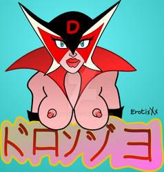 DORONJO Yattaman Sexy villain VECTOR Art by ErotixXx