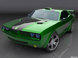Dodge Challanger by cipriany