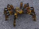 Robo spider by cipriany