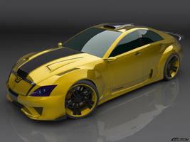 Venom concept car by cipriany