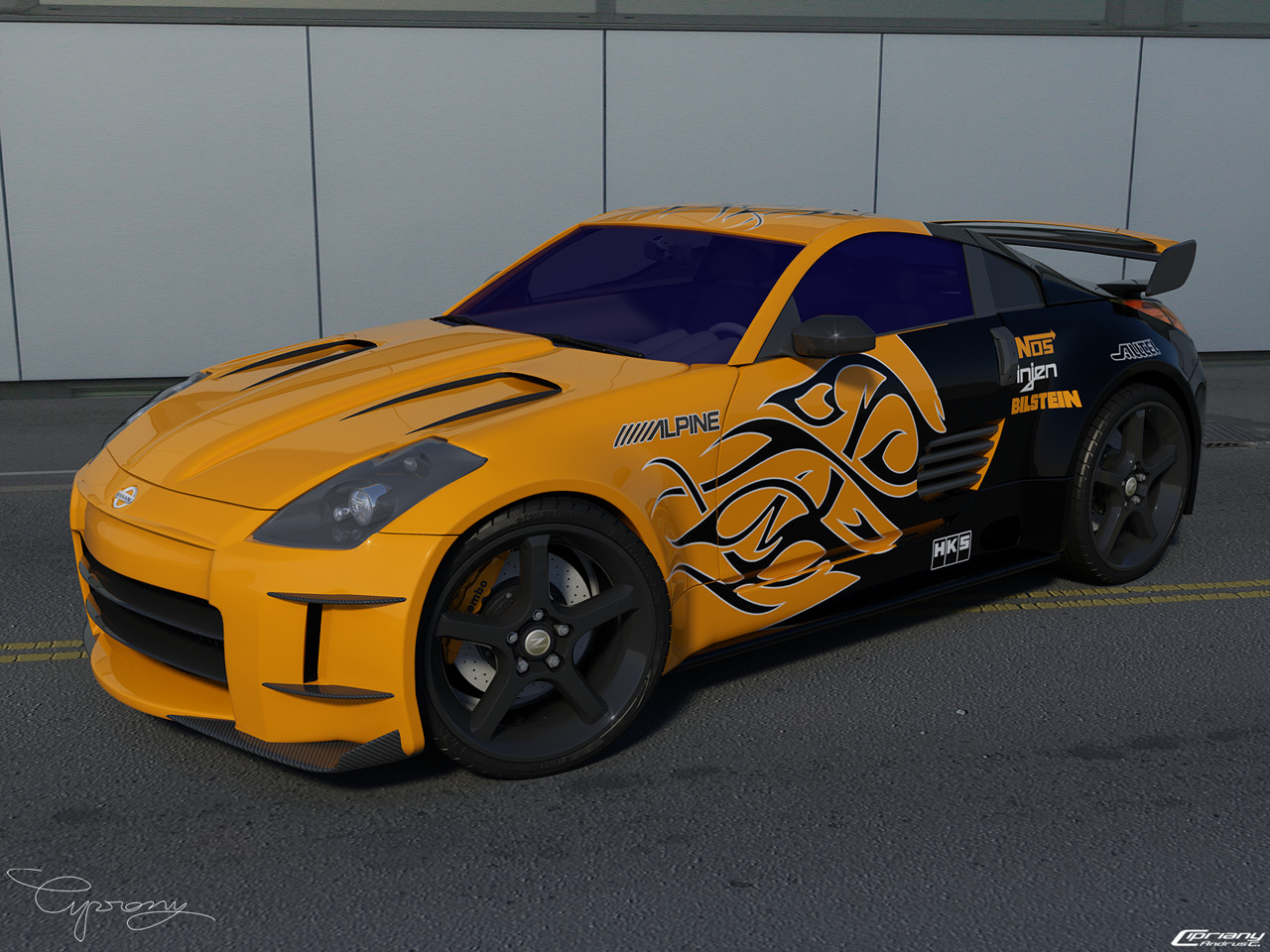 Attractive Street Car Racer Pattern - Classic Cars Ideas - boiq.info