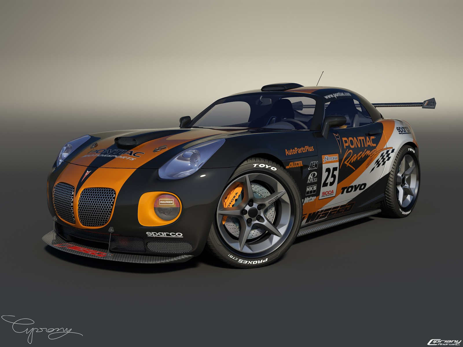 Pontiac Solstice tuned by