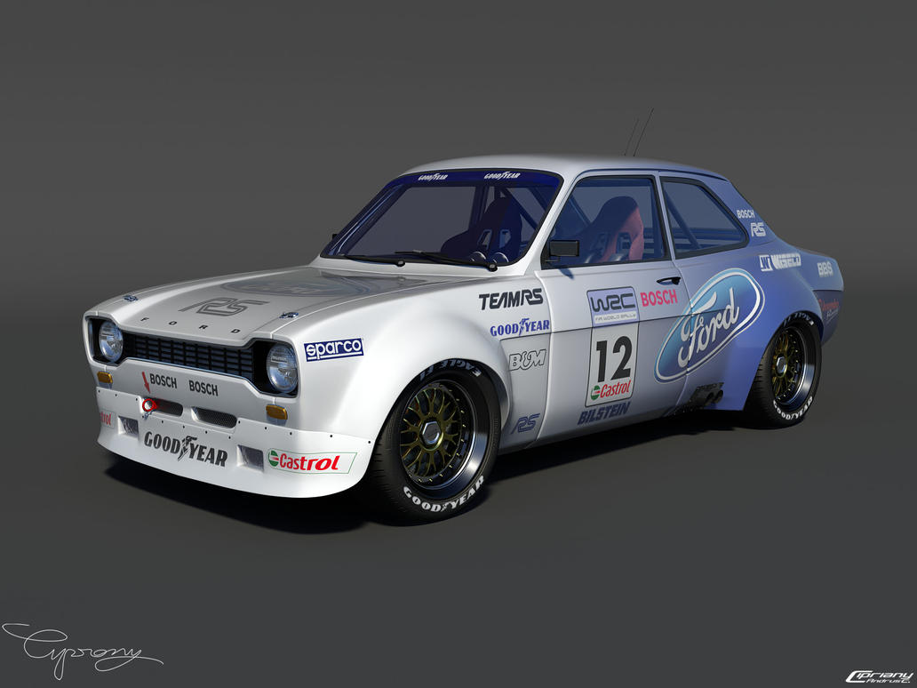 Ford Escort by ~cipriany on